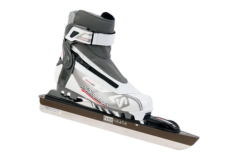 83eee91102f Free-skate: De afneembare klapschaats met Salomon schoen
